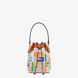 FENDI MON TRESOR - Mini bag in beige canvas - view 1 thumbnail
