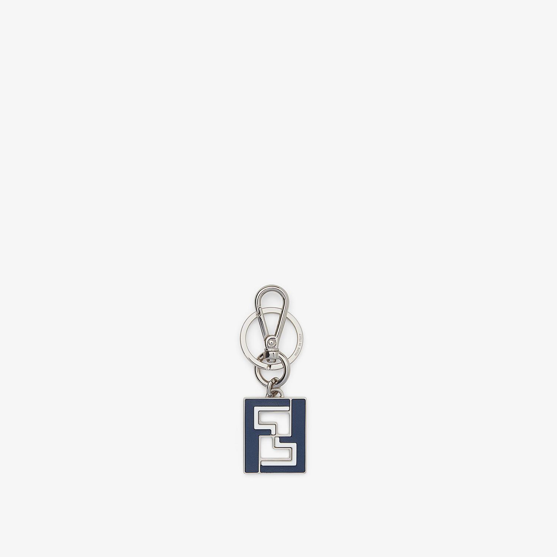 FENDI KEY RING - Blue metal key ring - view 1 detail