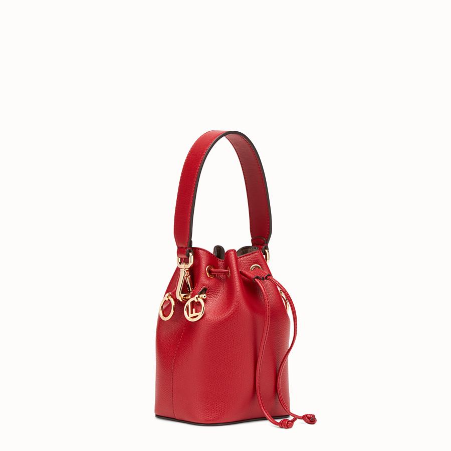 FENDI MON TRESOR - Mini sac en cuir rouge - view 2 detail