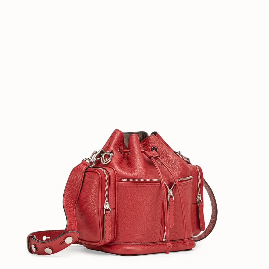 FENDI MON TRESOR - Tasche aus Leder in Rot - view 2 detail