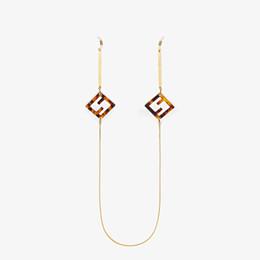 FENDI GLASSES CHAIN - Gold-color necklace - view 1 thumbnail