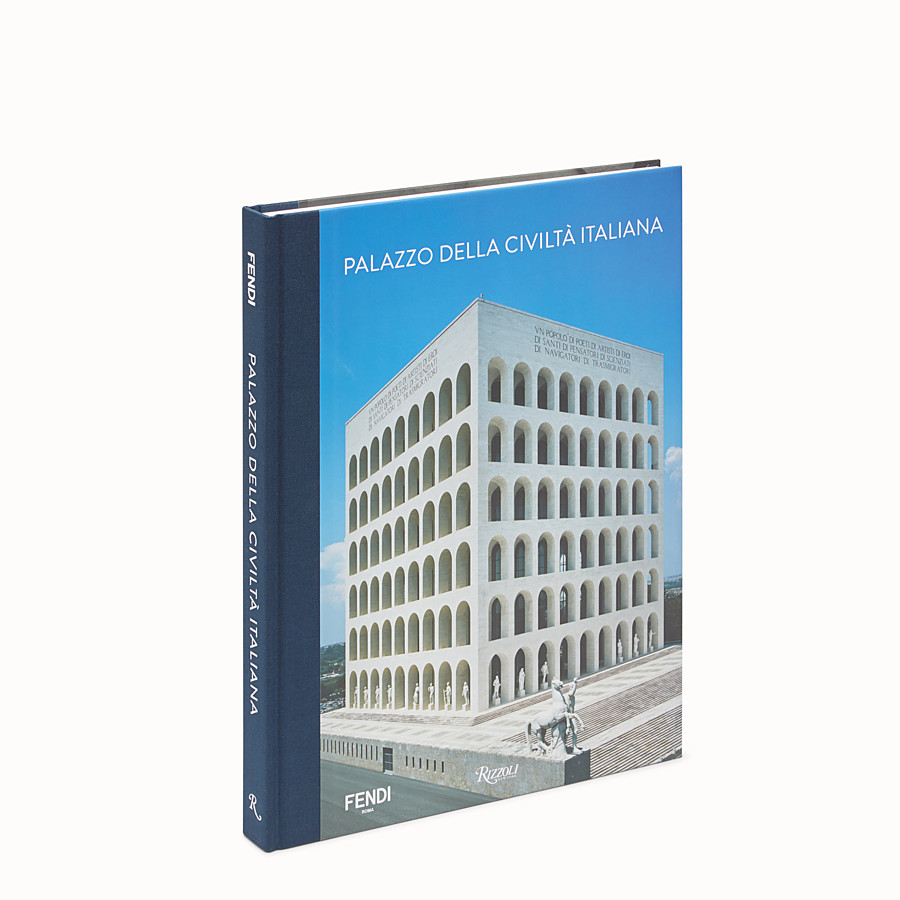 FENDI PALAZZO DELLA CIVILTÀ ITALIANA - Hardback version available in English - view 1 detail