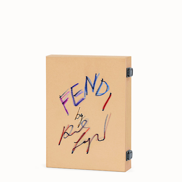 FENDI FENDI BY KARL LAGERFELD - Wooden box with book and DVD - view 1 small thumbnail