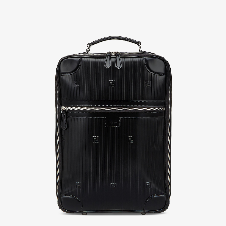 FENDI TRAVEL BACKPACK - Black leather backpack - view 1 detail