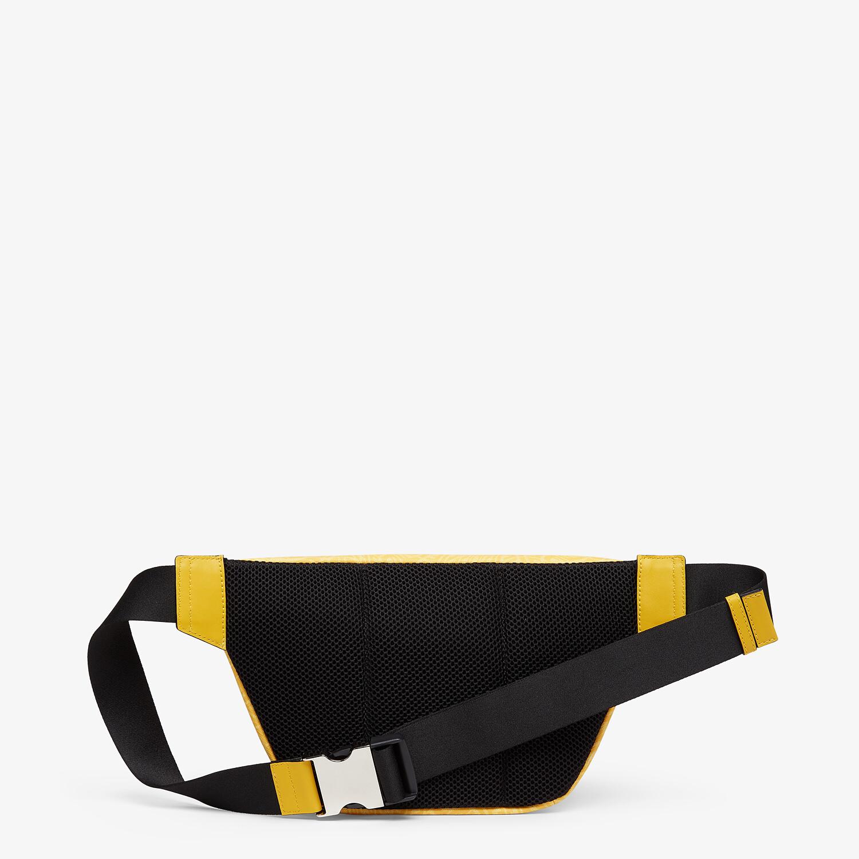 FENDI BELT BAG - Yellow fabric belt bag - view 3 detail