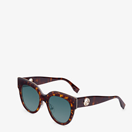 FENDI F IS FENDI - Havana FF sunglasses - view 2 thumbnail