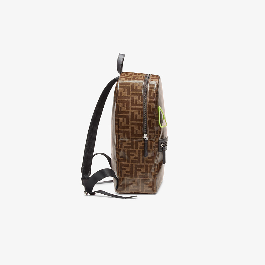 FENDI BABY BACKPACK - Brown leather backpack - view 2 detail