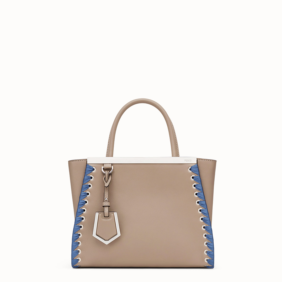FENDI PETITE 2JOURS - Beige leather bag - view 1 detail