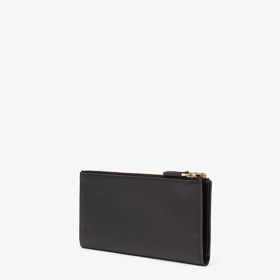 FENDI BIFOLD - Black leather wallet - view 2 detail