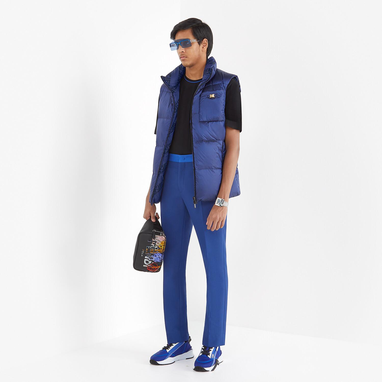 FENDI BELT BAG - Multicolor nylon and leather bag - view 6 detail