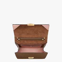 FENDI KAN U - Brown leather bag - view 5 thumbnail
