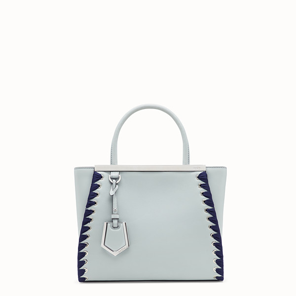FENDI PETITE 2JOURS - Grey leather bag - view 1 small thumbnail