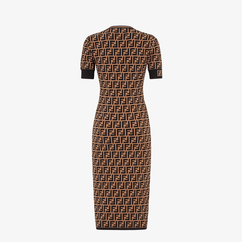 FENDI DRESS - FF motif fabric dress - view 2 detail