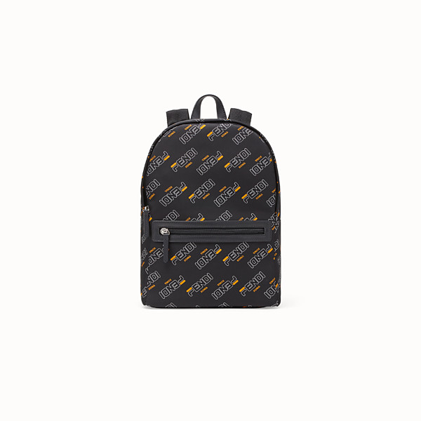 FENDI BABY BACKPACK - Black nylon backpack - view 1 small thumbnail