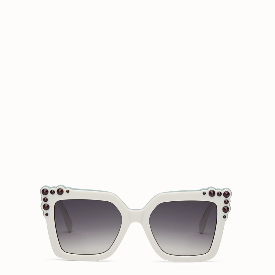 FENDI CAN EYE - Ivory sunglasses - view 1 detail