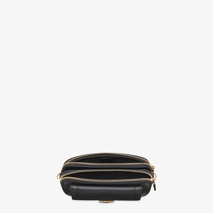 FENDI EASY 2 BAGUETTE - Black leather mini bag - view 5 detail