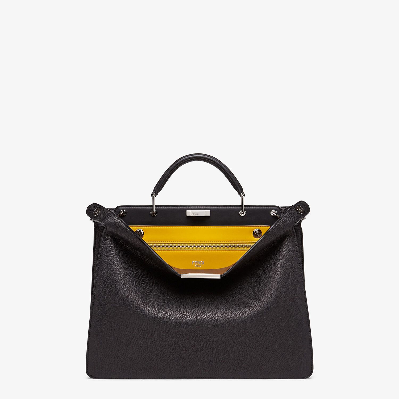 FENDI PEEKABOO ISEEU MEDIUM - Black leather bag - view 1 detail