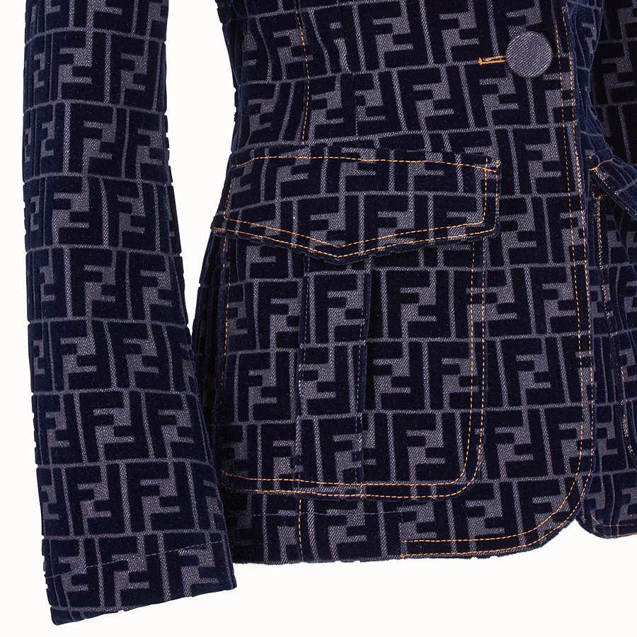 FENDI 재킷 - 블루 컬러의 데님 재킷 - view 3 detail