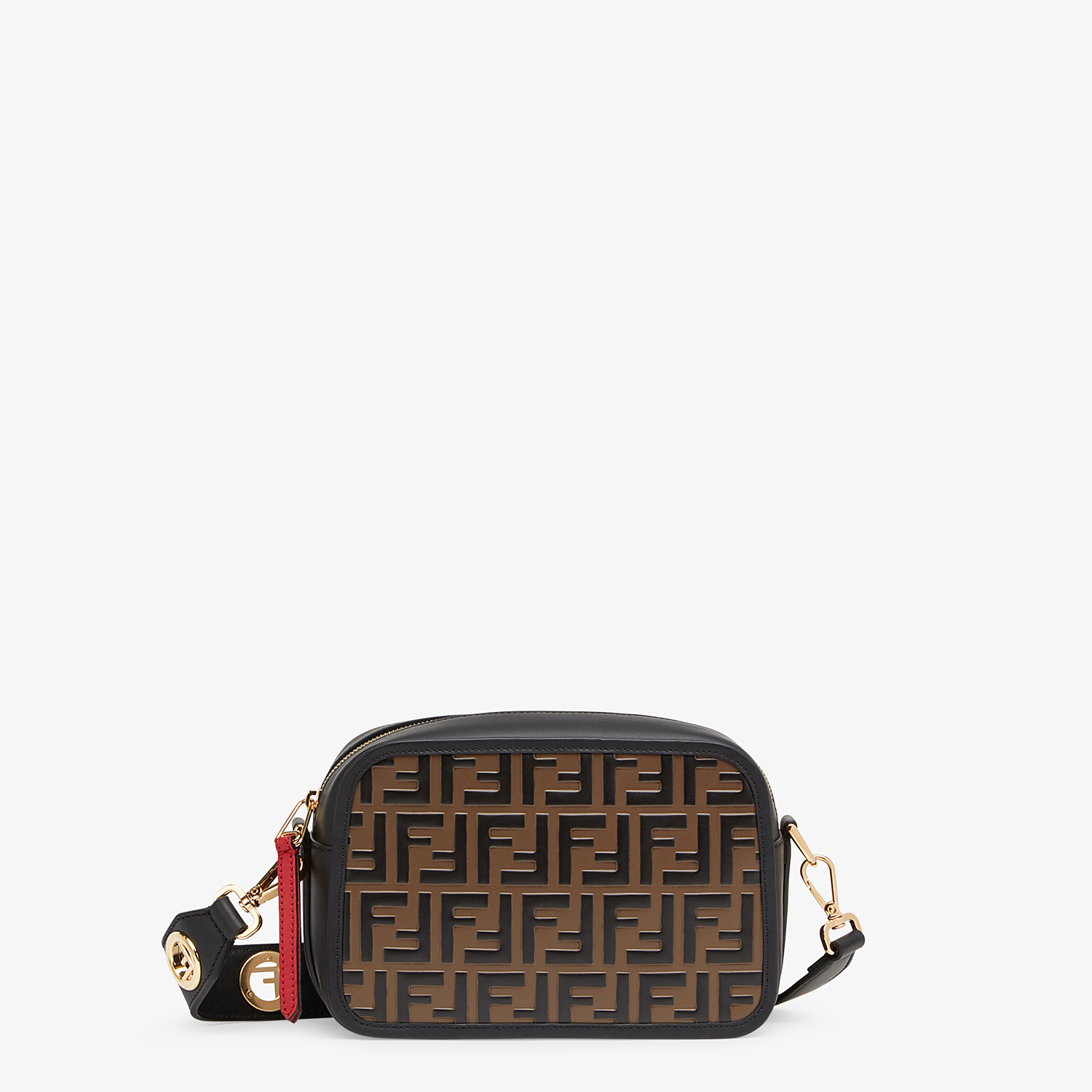 FENDI CAMERA CASE - Multicolour leather bag - view 1 detail