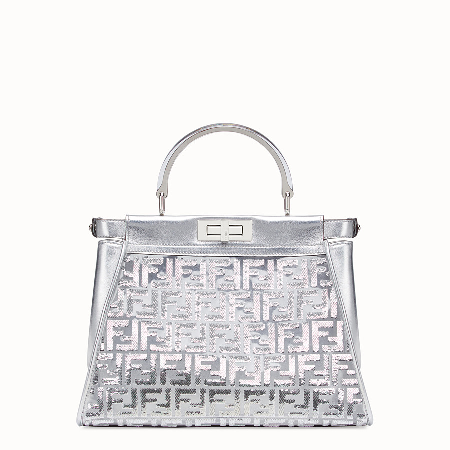 FENDI PEEKABOO ICONIC MEDIUM - Fendi Prints On leather bag - view 3 detail