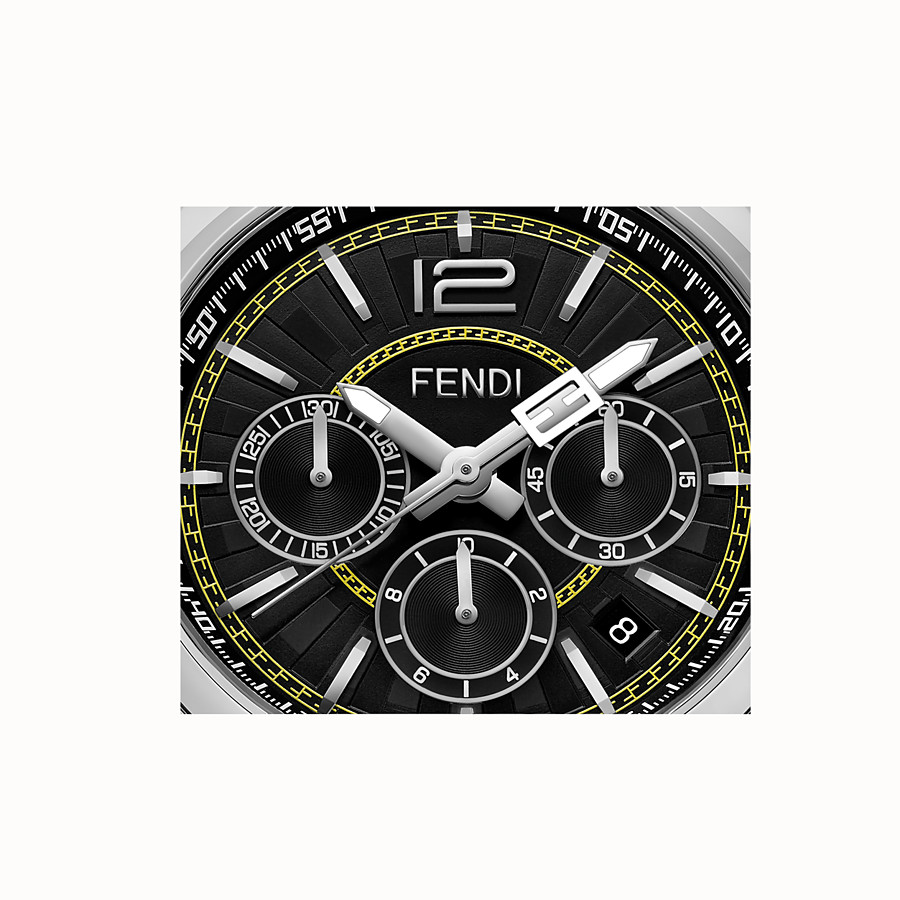 FENDI MOMENTO FENDI - Chronograph watch with bracelet - view 3 detail