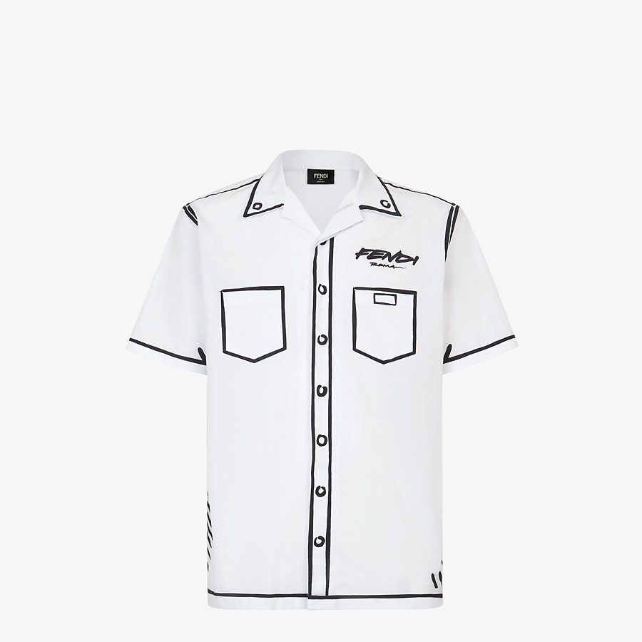 FENDI SHIRT - Fendi Roma Joshua Vides cotton shirt - view 1 detail
