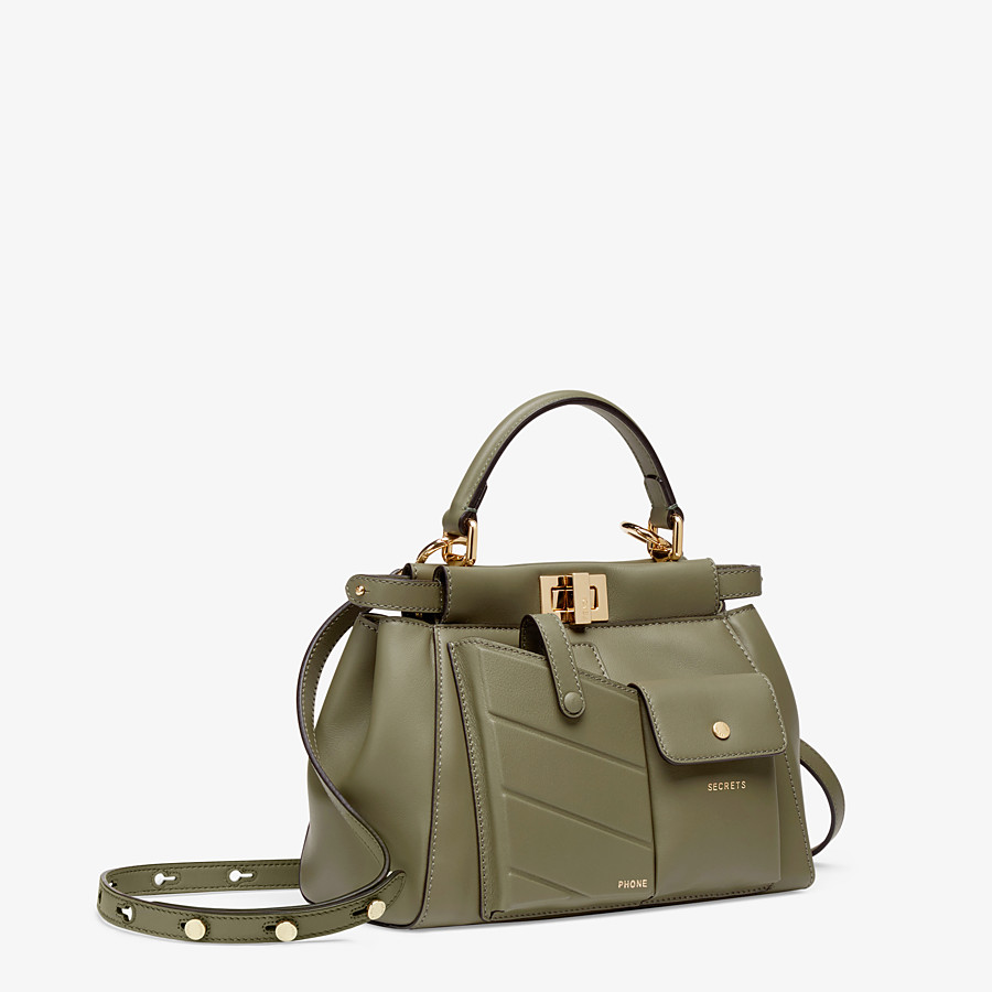 Green Leather Bag Kaboo Iconic