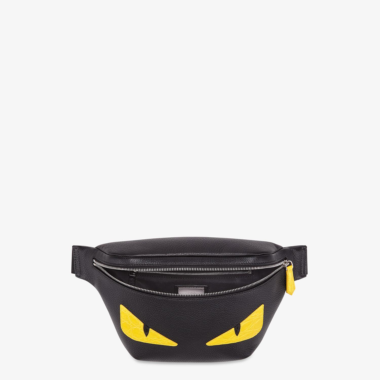 FENDI BELT BAG - Black leather belt bag - view 4 detail