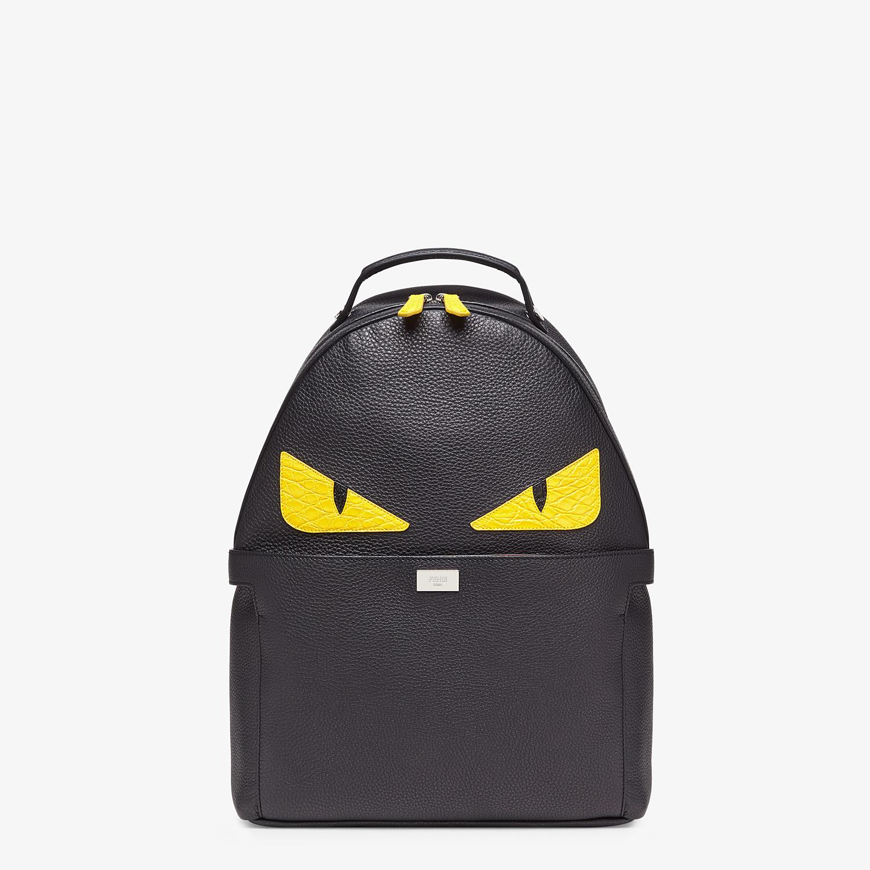 FENDI PEEKABOO BACKPACK - Black leather backpack - view 2 detail