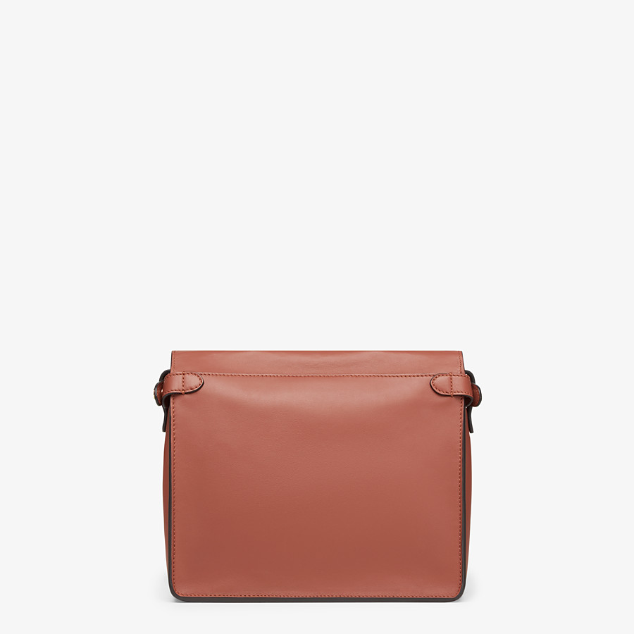FENDI FENDI FLIP MEDIUM - Tasche aus Leder in Rot - view 5 detail