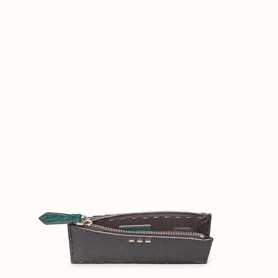 FENDI CARD HOLDER - Multicolor leather coin purse - view 3 detail