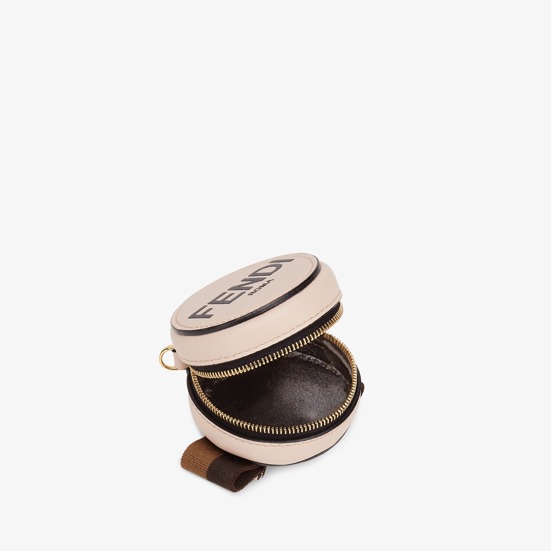 FENDI WRIST CHARM - Pink leather coin purse - view 3 detail
