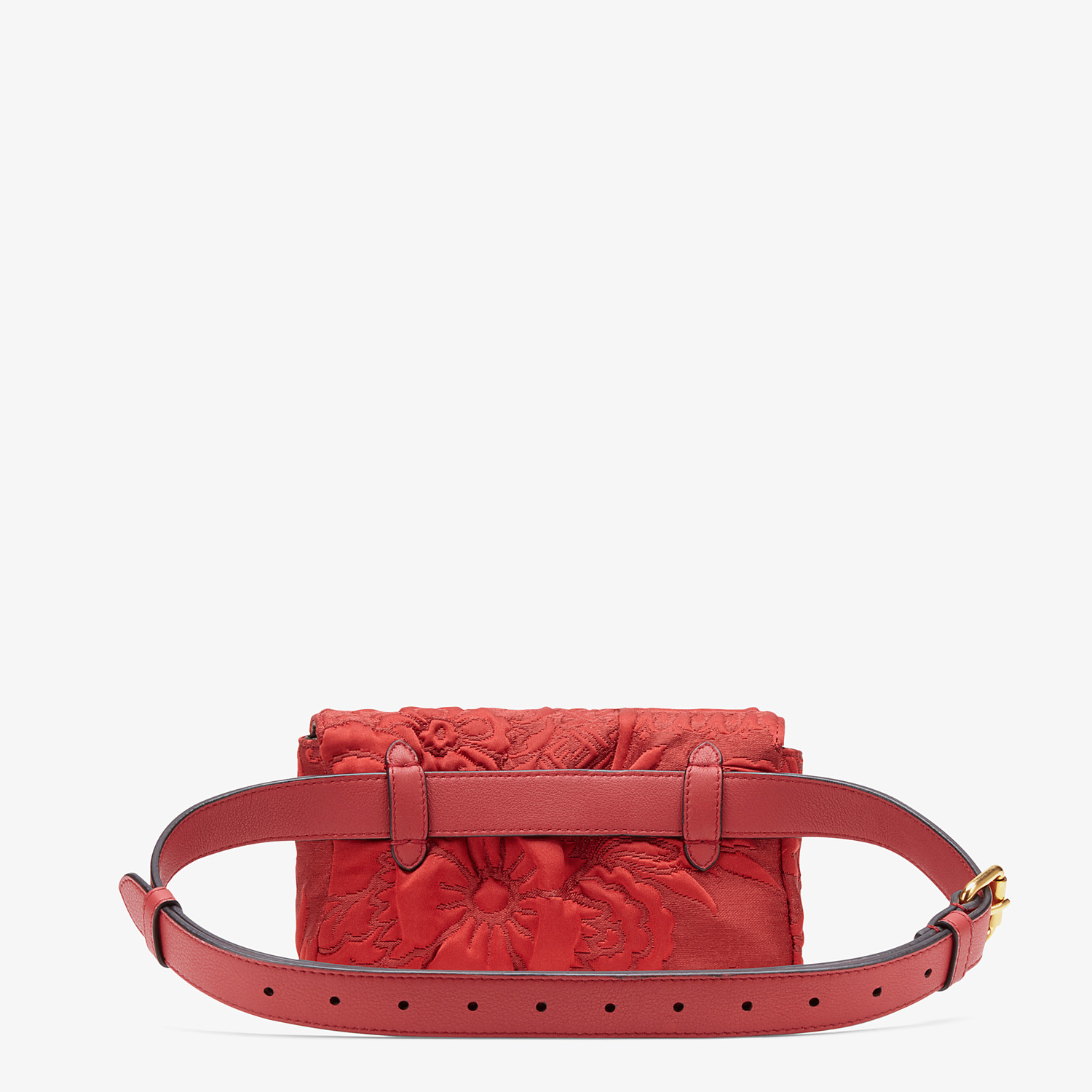 FENDI BELT BAG - Red fabric minibag - view 4 detail