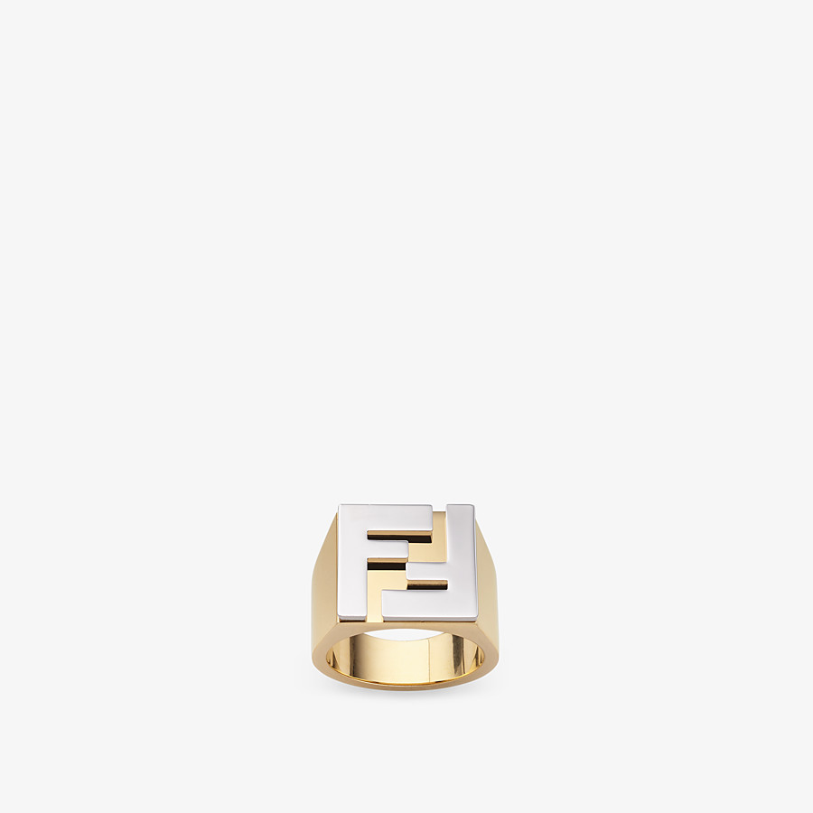 FENDI RING - Gold-color ring - view 1 detail