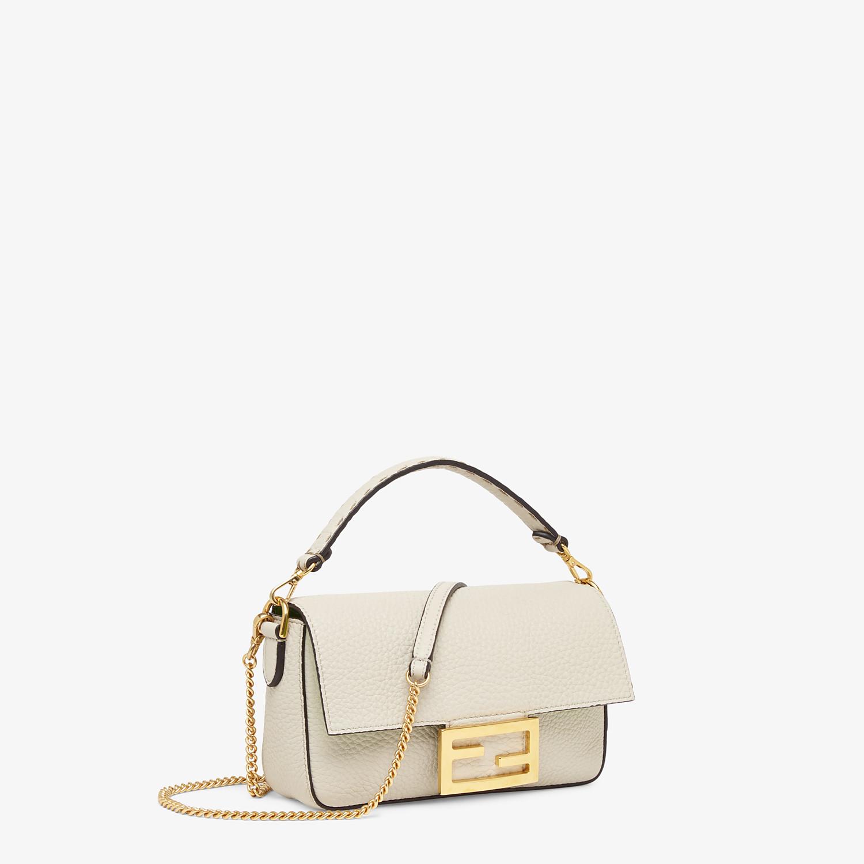 FENDI BAGUETTE MINI - Fendi Roma Amor leather bag - view 2 detail