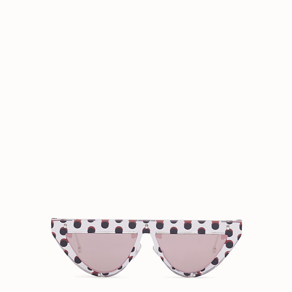 FENDI DEFENDER - Polka dot sunglasses - view 1 small thumbnail