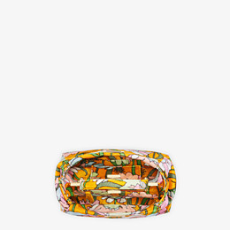 FENDI PEEKABOO ICONIC MINI - Orange chenille bag - view 5 thumbnail
