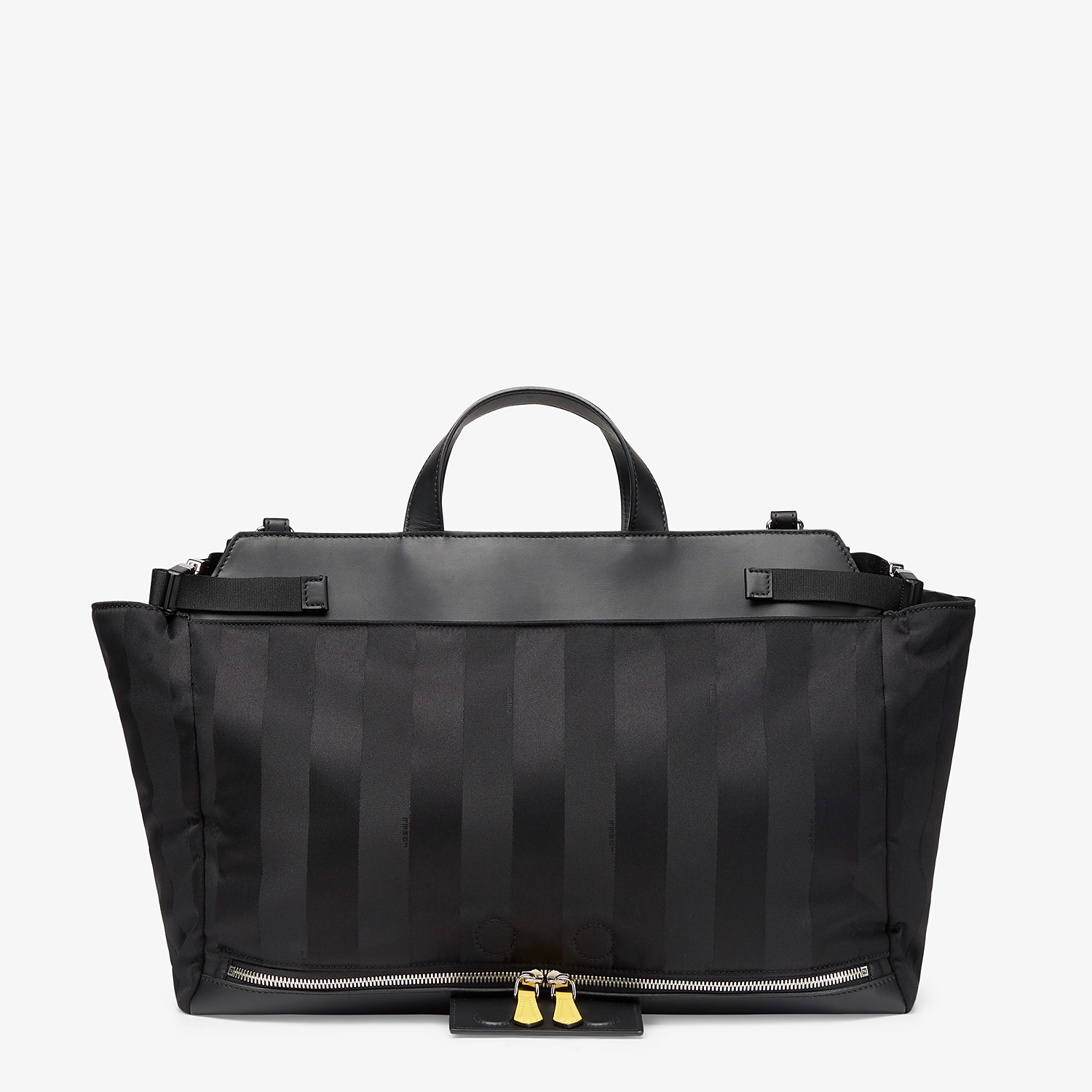 FENDI PEEKABOO ICONIC MEDIUM - Black nylon bag - view 4 detail