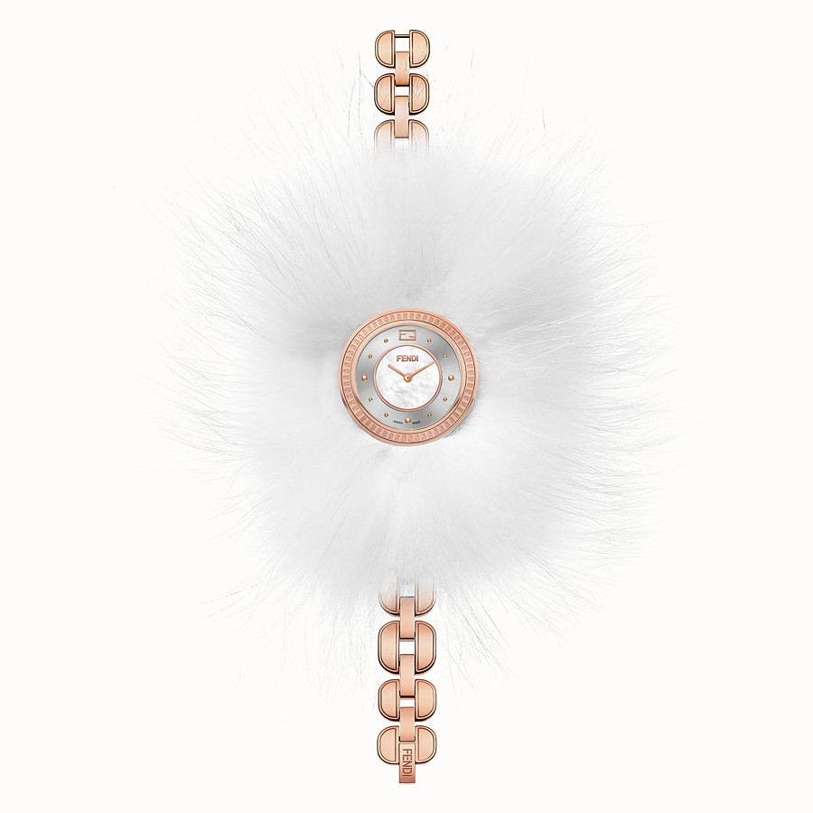 FENDI FENDI MY WAY - 36 mm - Uhr mit Fell-Glamy - view 2 detail