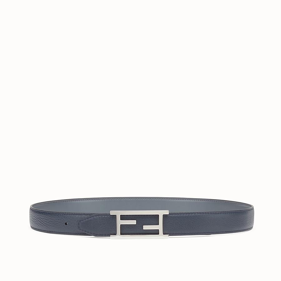 FENDI BELT - 灰色和黑板色雙面皮帶 - view 1 detail