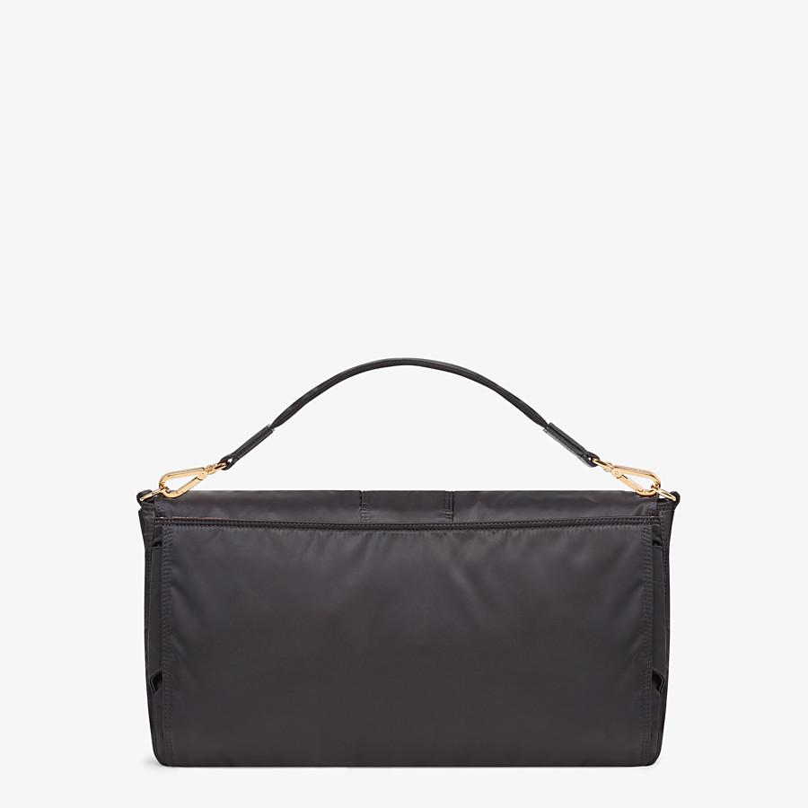 FENDI BAGUETTE FENDI AND PORTER - Black nylon bag - view 4 detail