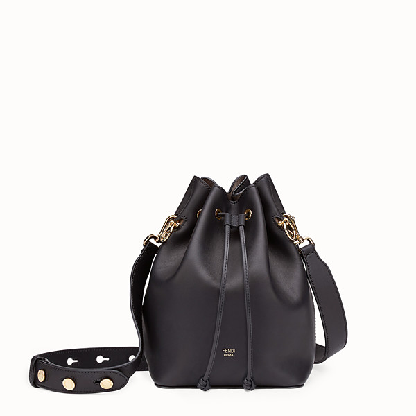 FENDI MON TRESOR - Black leather bag - view 1 small thumbnail