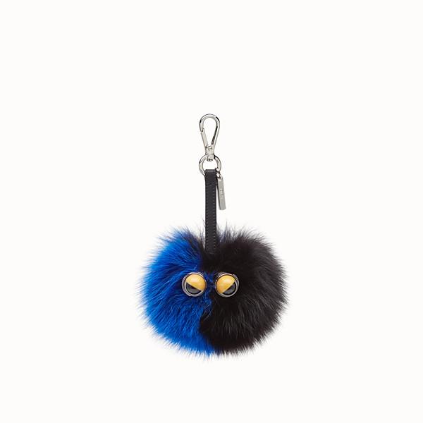 FENDI POM-POM CHARM - Multicolor fox fur charm - view 1 small thumbnail