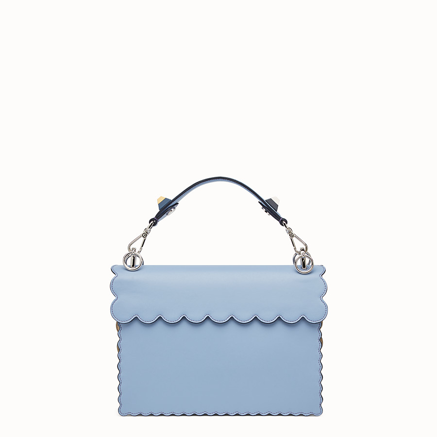 FENDI KAN I - Light blue leather bag - view 3 detail