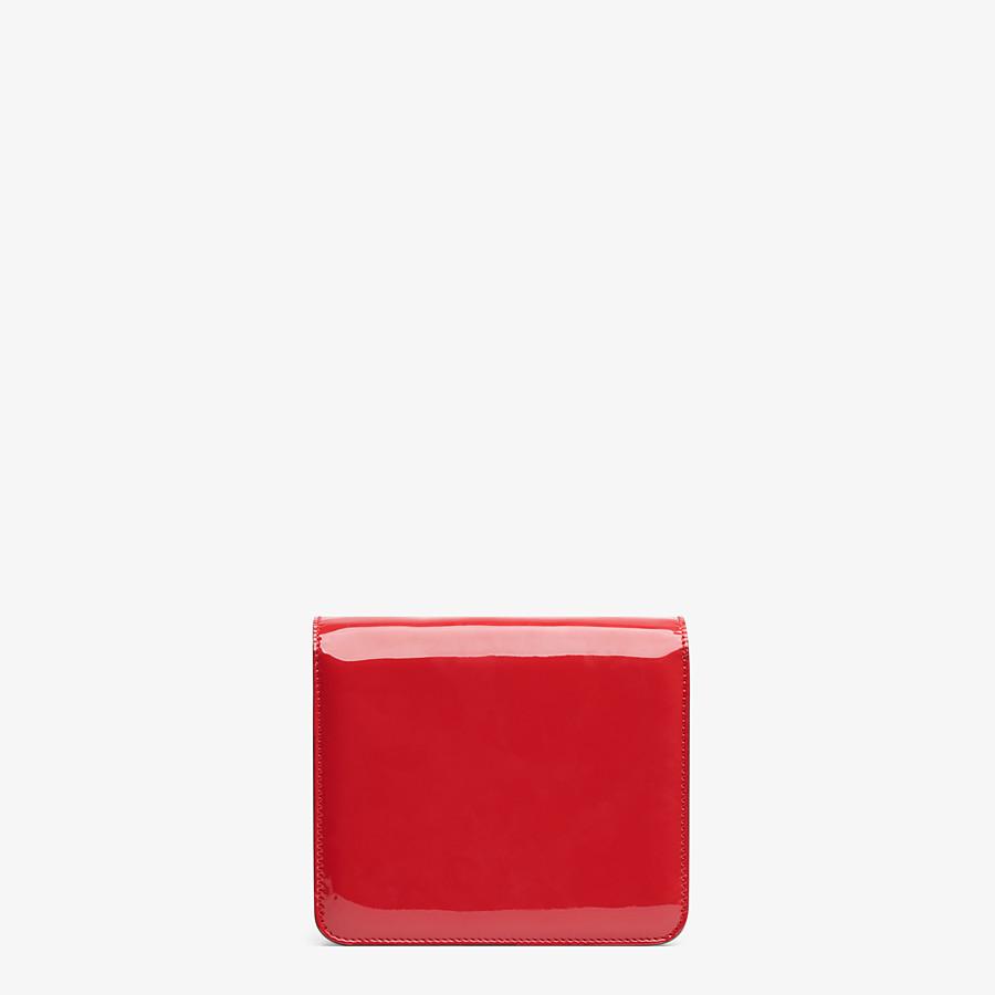 FENDI KARLIGRAPHY - Tasche aus Lackleder in Rot - view 4 detail