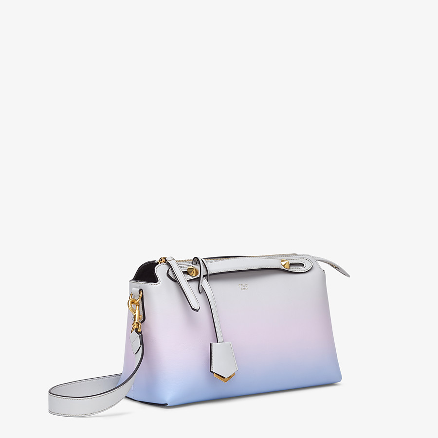 FENDI BY THE WAY MEDIUM - Leather Boston bag in graduated colours - view 3 detail
