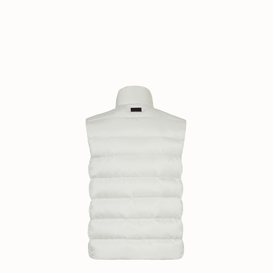 FENDI GILET - Black nylon gilet - view 2 detail