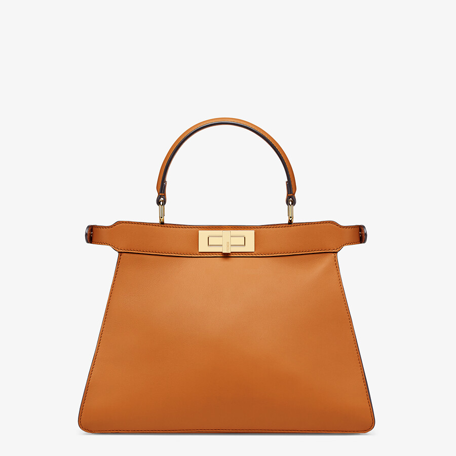 FENDI PEEKABOO ISEEU MEDIUM -  Brown leather bag - view 6 detail