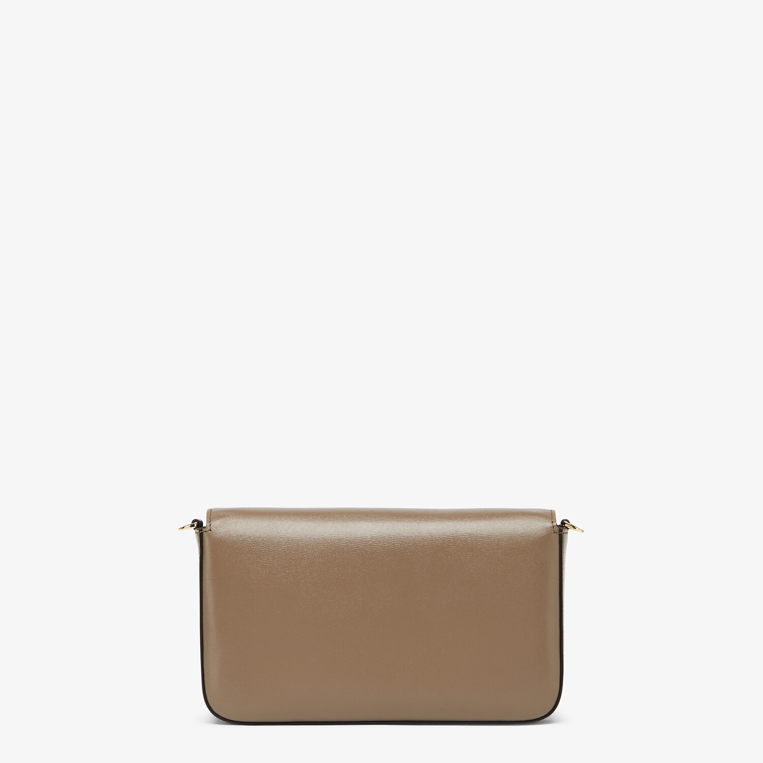 FENDI WALLET ON CHAIN WITH POUCHES - Grey leather mini-bag - view 4 detail