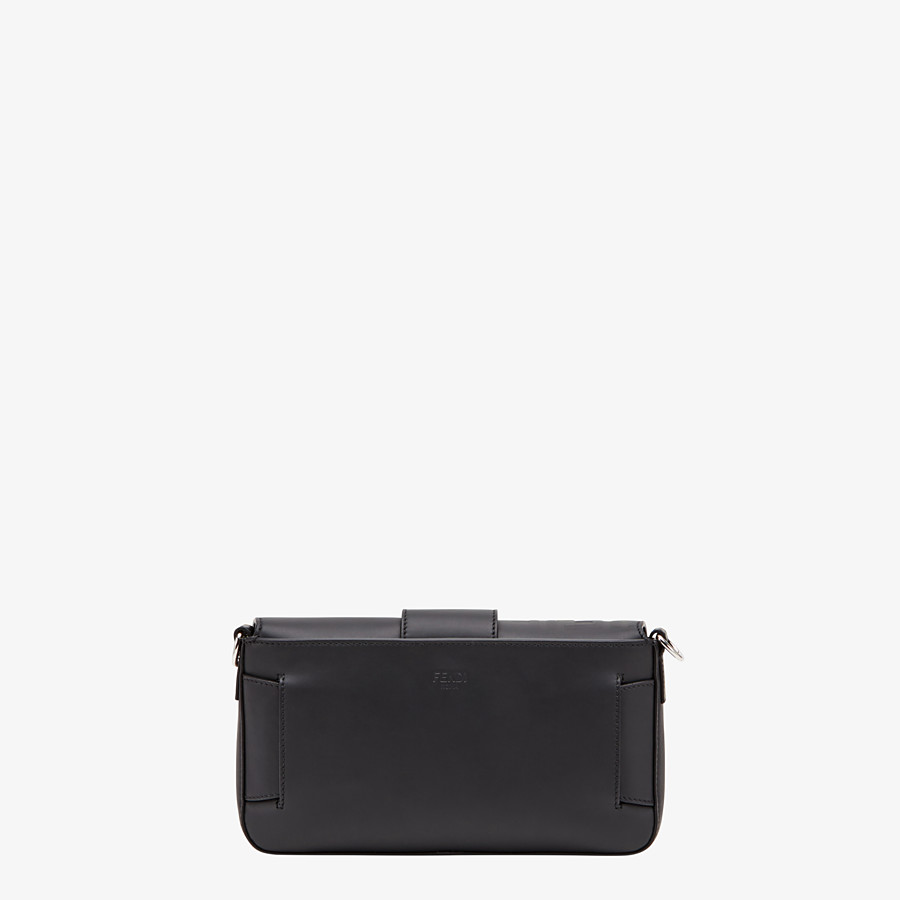 FENDI BAGUETTE - Black calfskin bag - view 4 detail